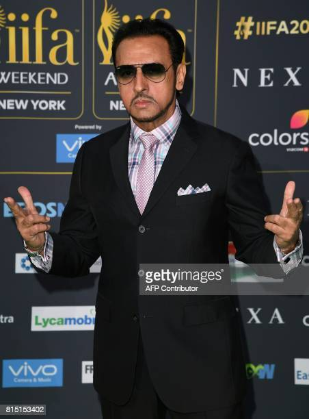Bollywood Actor Gulshan Grover arrives for the IIFA Awards July 15 2017 at the MetLife Stadium in East Rutherford New Jersey during the 18th...