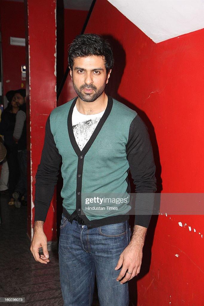 Bollywood actor Harman Baweja during special Screening of upcoming movie Race 2 at PVR, Juhu on January 24, 2013 in Mumbai, India.