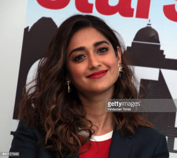 Bollywood actor Ileana D'Cruz during an exclusive interview with HT CityHindustan Times for the promotion of upcoming movie 'Baadshaho' as part of...