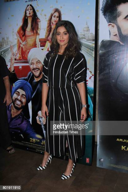 Bollywood actor ILeana Dcruz during the birthday party of Arjun Kapoor on June 25 2017 in Mumbai India