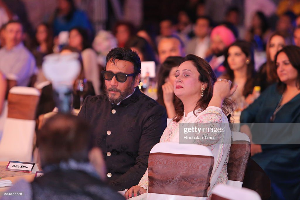 Bollywood actor Jackie Shroff during a sixth edition of Hindustan Times Most Stylish Awards 2016 at Hotel JW Marriot, Aerocity on May 24, 2016 in New Delhi, India.