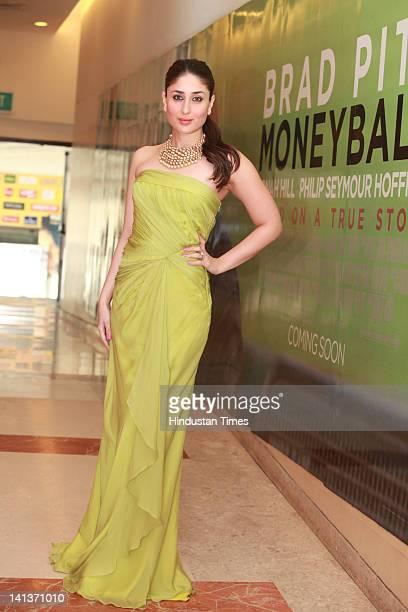 Bollywood actor Kareena Kapoor during a photoshoot on February 12 2012 in New Delhi India