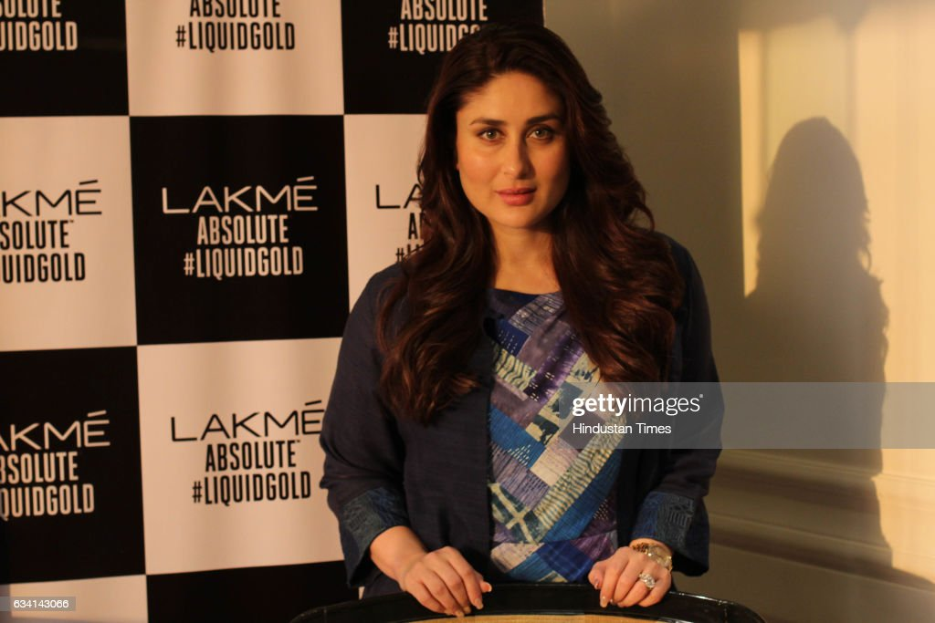 Interview Of Bollywood Actor Kareena Kapoor : News Photo