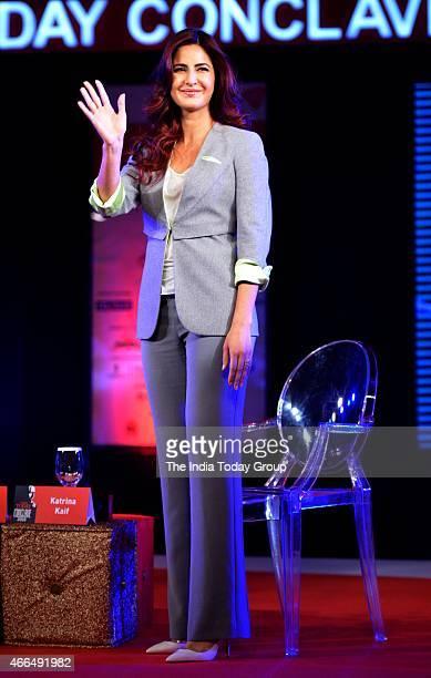 Bollywood actor Katrina Kaif at the India Today Conclave 2015