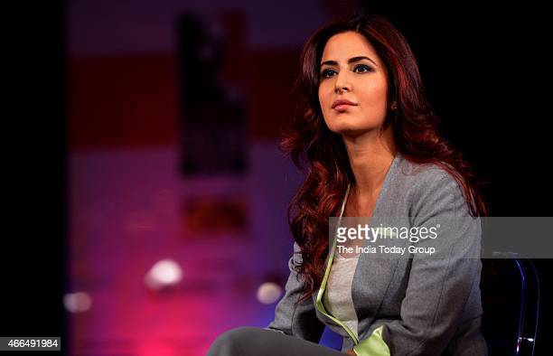 Bollywood actor Katrina Kaif at the India Today Conclave 2015