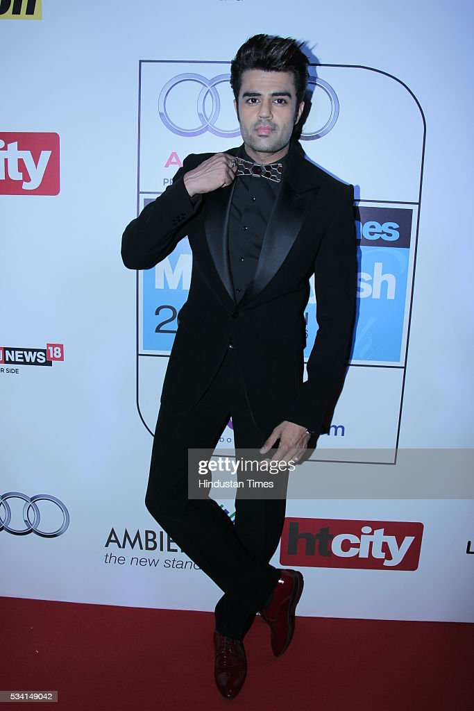 Bollywood actor Manish Paul arriving at red carpet forHindustan Times Most Stylish Awards 2016 at hotel JW Marriot, Aerocity on May 24, 2016 in New Delhi, India.