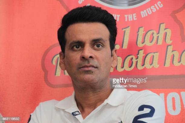 Bollywood actor Manoj Bajpayee during an exclusive interview with HT CityHindustan Times for the promotion of film 'Naam Shabana' at HT Media office...