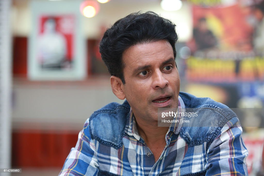 Profile Shoot Of Bollywood Actor Manoj Bajpayee : News Photo