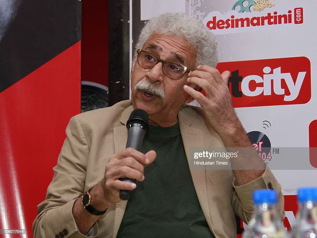 Bollywood actor Naseeruddin Shah during the interview for promotion of upcoming film Waiting at HT Media office on May 27, 2016 in New Delhi, India.