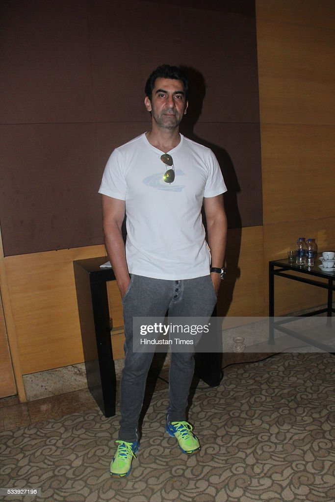 Bollywood actor Nawab Shah during a charity event for cancer affected kids from Cancer Patients Aid Association (CPAA) o at Grand Hyatt, Santacruz on May 22, 2016 in Mumbai, India.