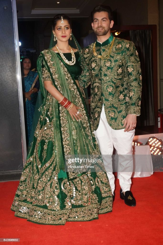 Wedding Reception Of Bollywood Actor Neil Nitin Mukesh : News Photo