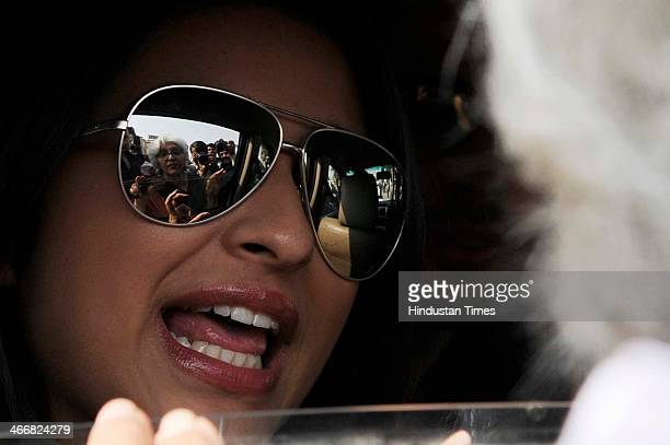 Bollywood actor Parineeti Chopra leaves after having heated argument with school management during promotion of her upcoming movie Hasee Toh Phasee...
