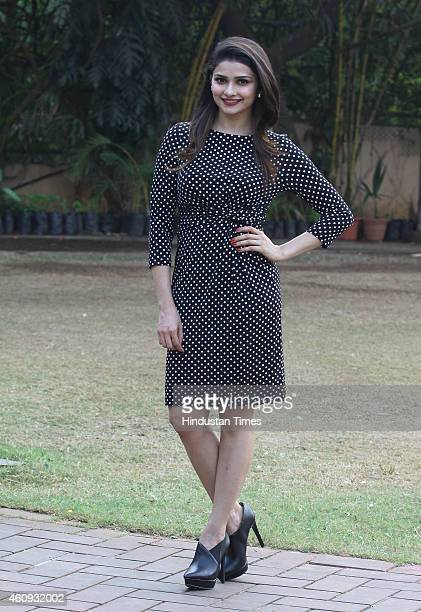 Bollywood actor Prachi Desai during new year bash at Country Club Andheri on December 29 2014 in Mumbai India