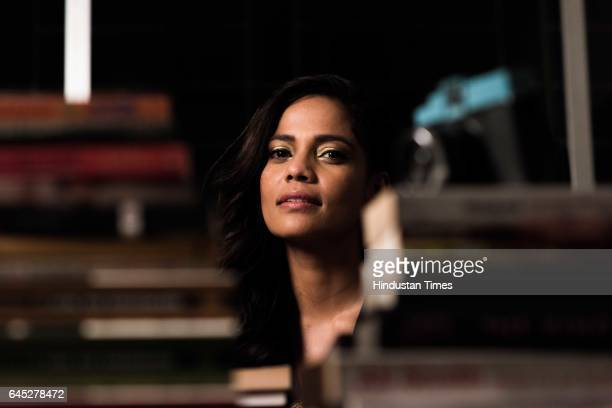 Bollywood actor Priyanka Bose during an exclusive interview with ht48hoursHindustan Times at her Studio in Juhu on February 13 2017 in Mumbai India