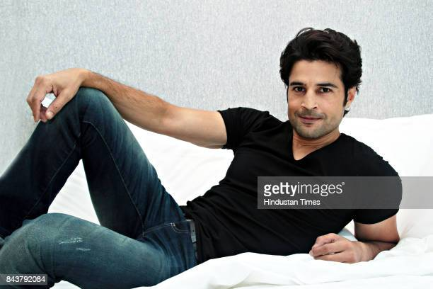 Bollywood actor Rajeev Khandelwal poses for a profile shoot at Hotel Le Meridien on August 31 2017 in New Delhi India