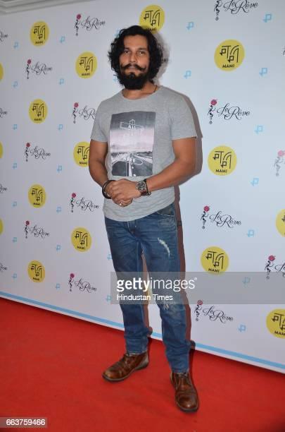 Bollywood actor Randeep Hooda during the premiere of film La La Land at the Jio MAMI Film Club at Le Reve Bandra on March 31 2017 in Mumbai India