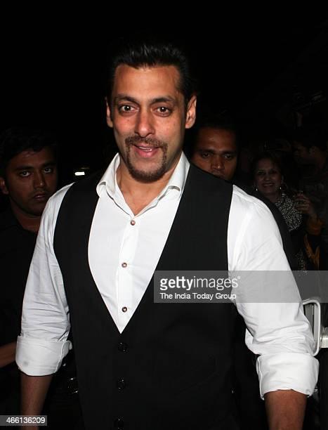 Bollywood actor Salman Khan at the launch of Armaan Malik's music album at Mumbai on 30th January 2014