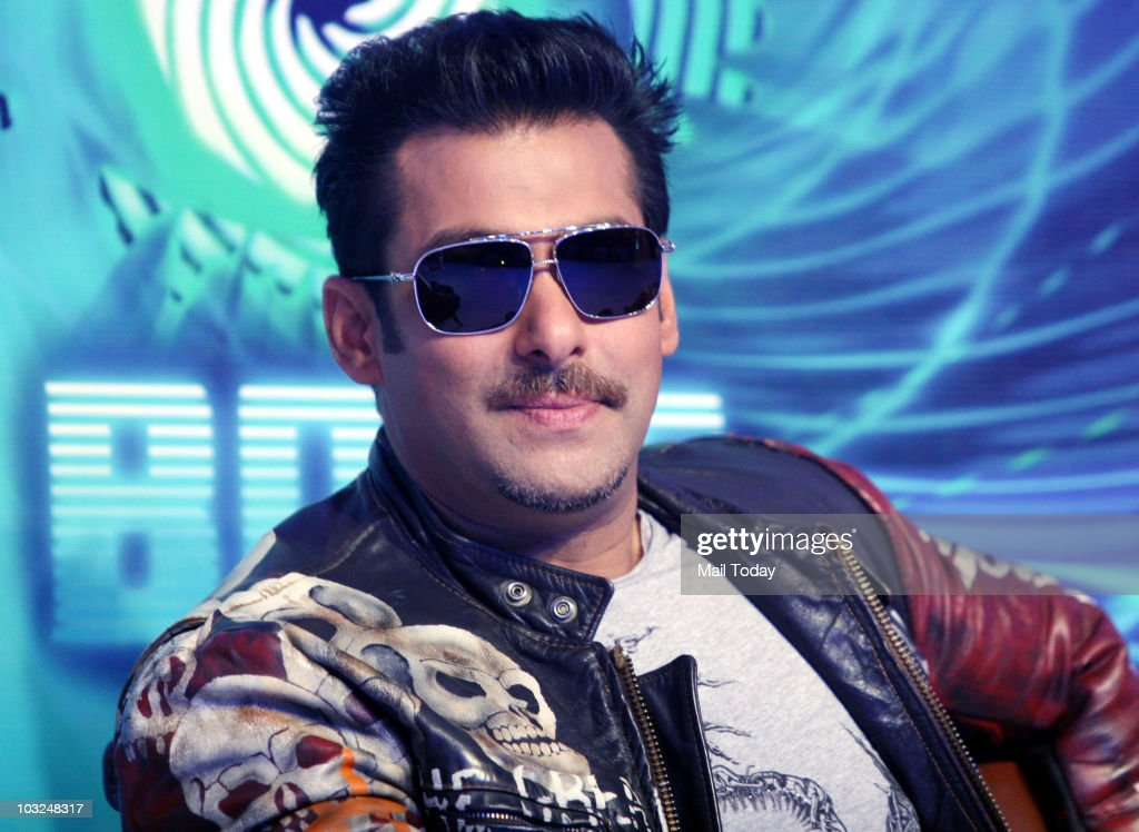 Bollywood actor <a gi-track='captionPersonalityLinkClicked' href=/galleries/search?phrase=Salman+Khan+-+Actor&family=editorial&specificpeople=558807 ng-click='$event.stopPropagation()'>Salman Khan</a> smiles during a press conference in Mumbai on Tuesday, August 3, 2010. Khan announced that he will host the reality show Bigg Boss, a role earlier filled by Indian screen legend Amitabh Bachchan.