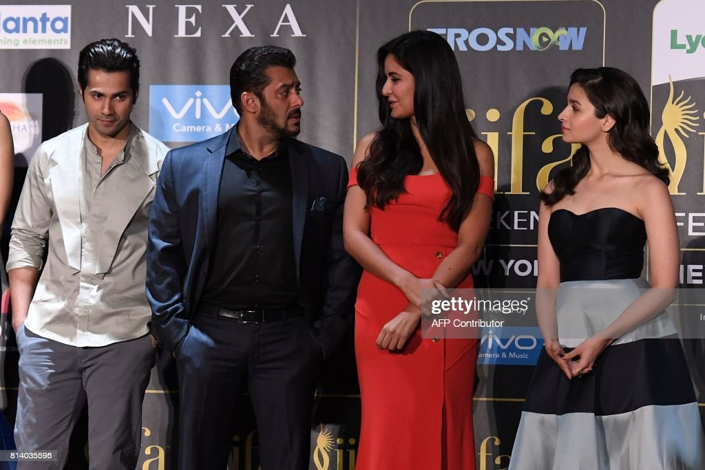 US-INDIA-ENTERTAINMENT-CINEMA-BOLLYWOOD-IIFA : News Photo
