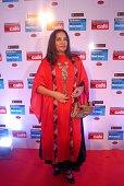 Bollywood actor Shabana Azmi during the Hindustan Times Mumbai's Most Stylish Awards 2015 at JW Mariott Hotel Juhu on March 26 2015 in Mumbai India