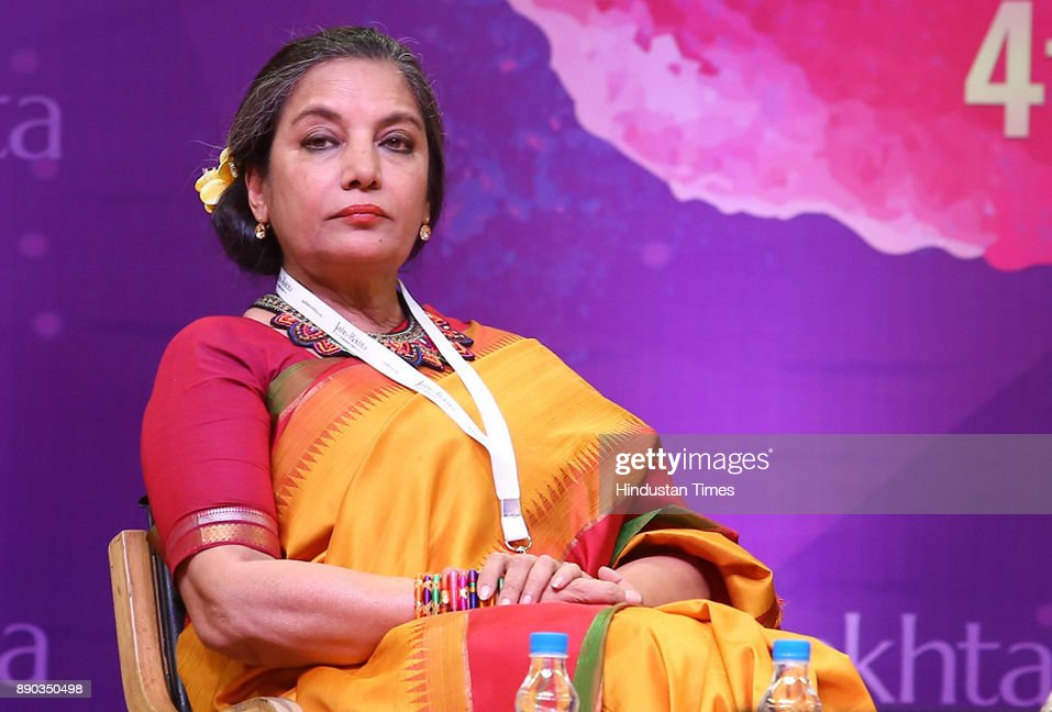Bollywood Actor Shabana Azmi At Jashn-e-Rekhta Festival