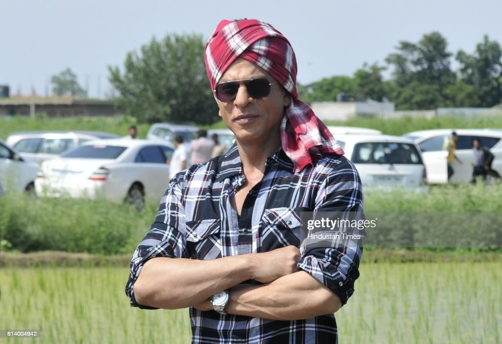 Bollywood Actor Shah Rukh Khan Promotes His Upcoming Movie 'Jab Harry Met Sejal' In Ludhiana : News Photo