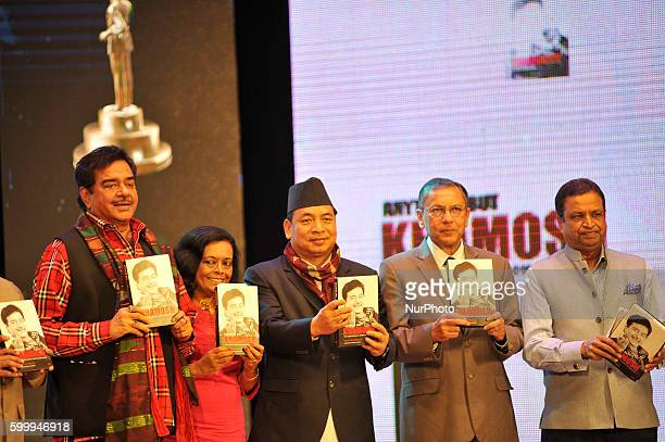 Bollywood actor Shatrughan Sinha Vice President of Nepal Nanda Kishor Pun Ambassador of India to Nepal Ranjit Rae and Industrialist Binod Chaudhary...