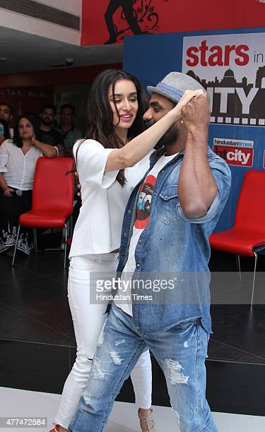 Bollywood actor Shraddha Kapoor and director Remo D'Souza during an exclusive interview with HT CityHindustan Times for the promotion of upcoming...