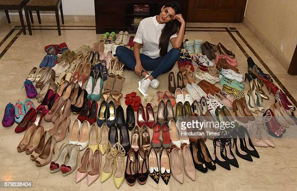 Bollywood actor Sonal Chauhan during an exclusive interview with ht48hoursHindustan Times at her residence at Andheri on July 9 2016 in Mumbai India