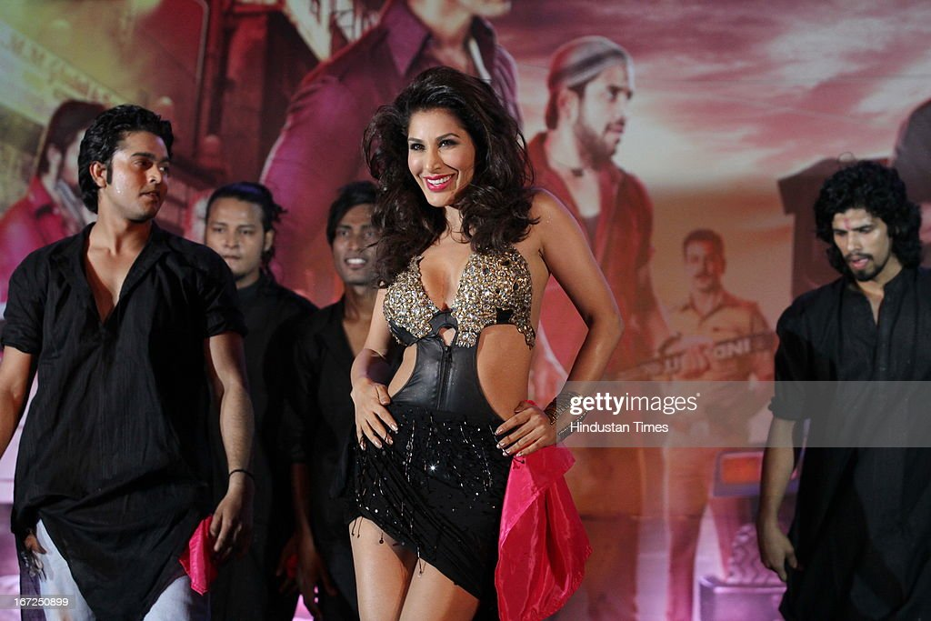 Bollywood actor Sophie Choudhry performing during the promotion of their upcoming film 'Shootout At Wadala' at The Great India Place, shopping mall on April 21, 2013 in Noida, India. It is the sequel to 2007 film Shootout at Lokhandwala, and is based on the book Dongri to Dubai written by Hussain Zaidi. The film features John Abraham, Anil Kapoor, Kangna Ranaut, Tusshar Kapoor and Sonu Sood in lead roles. The film was expected to release on May 1, 2013, but has been postponed to release on May 3, 2013.