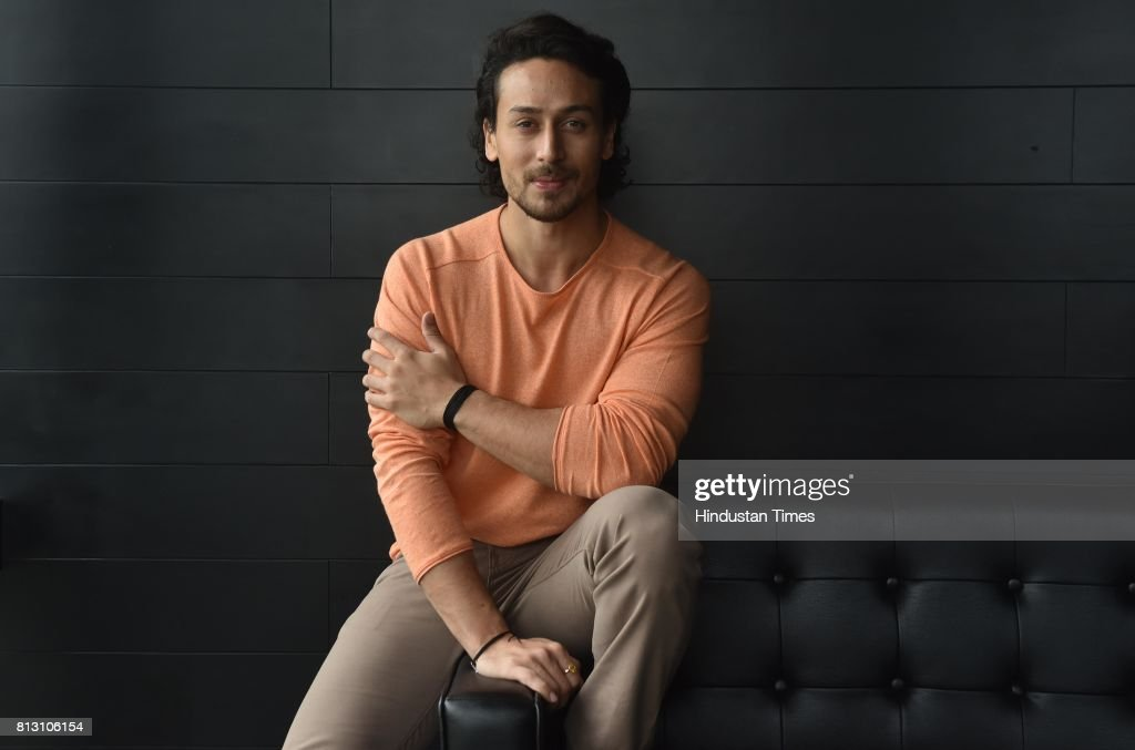HT Exclusive: Profile Shoot Of Bollywood Actors Tiger Shroff And Nidhhi Agerwal : News Photo