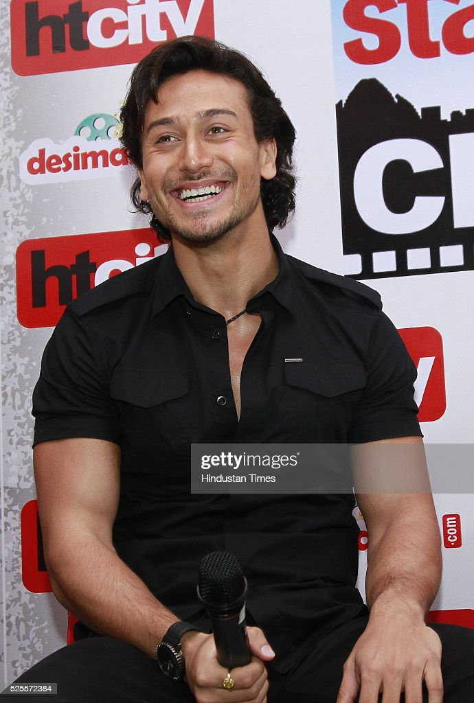 Bollywood actor Tiger Shroff during an interview for promotion of upcoming movie Baaghi at HT Media office on April 26, 2016 in New Delhi, India.