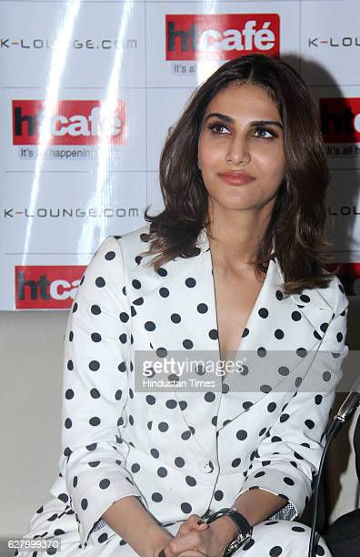Bollywood actor Vaani Kapoor during an interview for promotion of her film Befikre on December 3 2016 in Mumbai India Befikre is upcoming Indian...