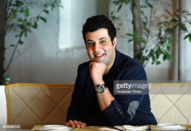 Bollywood actor Varun Sharma poses during an exclusive interview with HT CityHindustan Times at The Claridges Hotel on September 14 2017 in New Delhi...