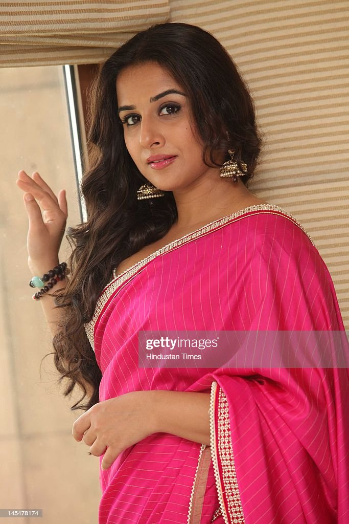 Bollywood Actor, <a gi-track='captionPersonalityLinkClicked' href=/galleries/search?phrase=Vidya+Balan&family=editorial&specificpeople=563348 ng-click='$event.stopPropagation()'>Vidya Balan</a> at a promotional event for Aliva's 'Upar Se Tasty, Andar Se Healthy' campaign at Taj Mansingh hotel on May 24, 2012 in New Delhi, India.