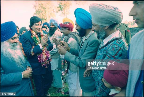 Bollywood actor Vinod Khanna campaigns on February 3 1998 in Gurdaspur India Veteran actor and sitting BJP MP Vinod Khanna passed away at the age of...