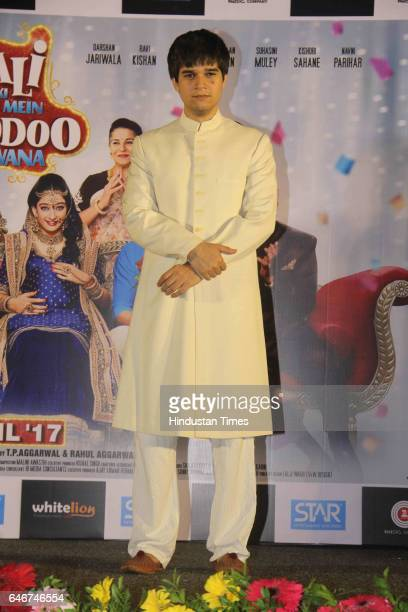 Bollywood actor Vivaan Shah during a trailer launch of movie 'Laali Ki Shaadi Mein Laddoo Deewana' at Cinepolis Andheri on February 27 2017 in Mumbai...
