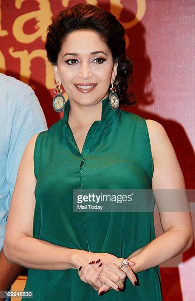 Bollywood actors Madhuri Dixit and Juhi Chawla launch BELIEVE a campaign that celebrates triumphs of women in Mumbai on Tuesday