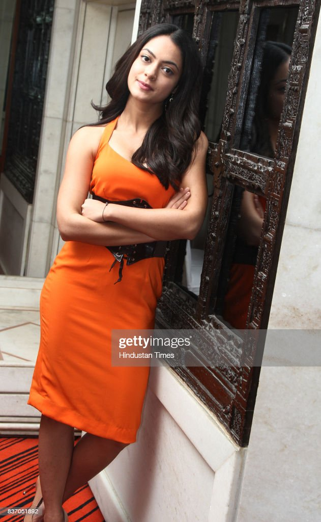 Bollywood actress Anya Singh poses during an interview at Hotel Le Meridien, on August 16, 2017 in New Delhi, India.
