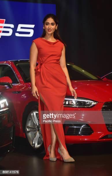Bollywood actress Ileana D'Cruz launch the new Audi A5 seriesin India at hotel Sofitel Bandra in Mumbai