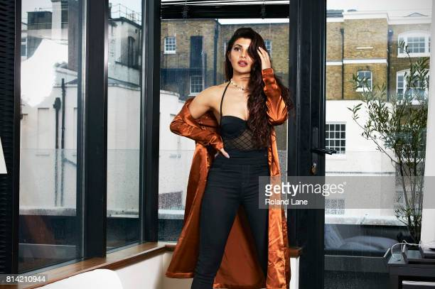 Bollywood actress Jacqueline Fernandez is photographed for Cosmopolitan Magazine on May 18 2017 in London England