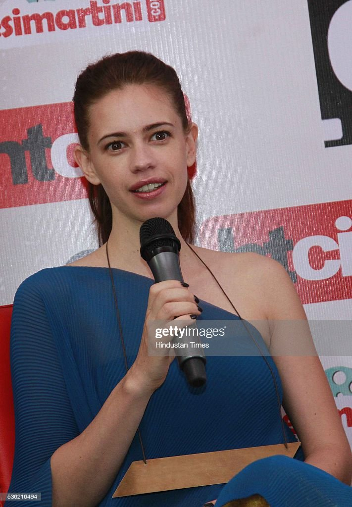 Bollywood actor Kalki Koechlin during the interview for promotion of upcoming film Waiting at HT Media office on May 27, 2016 in New Delhi, India.