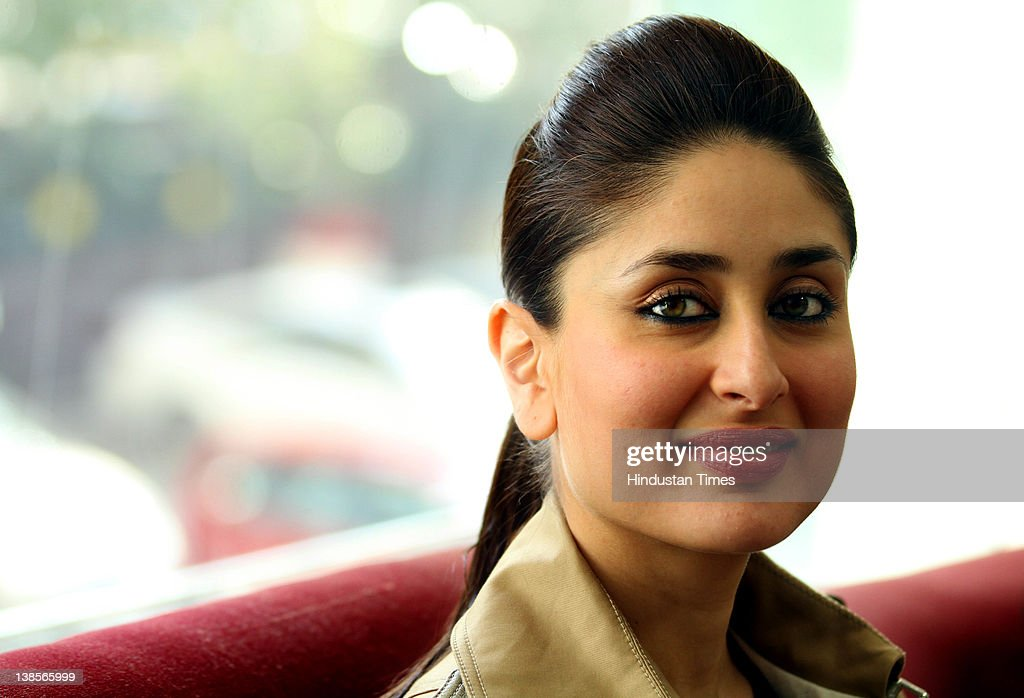 Bollywood Actress <a gi-track='captionPersonalityLinkClicked' href=/galleries/search?phrase=Kareena+Kapoor&family=editorial&specificpeople=855270 ng-click='$event.stopPropagation()'>Kareena Kapoor</a> at HT City office on February 8, 2012 in New Delhi, India. She was on promotion tour for her upcoming movie Ek Main Aur Ek Tu with Co-star Imran Khan. The romantic comedy film directed by debutant Shakun Batra is scheduled to be released on February 10, 2012.