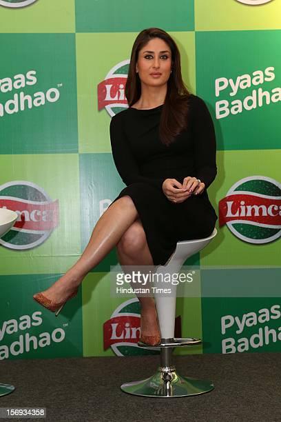 Bollywood actress Kareena Kapoor at the Limca's Meet and Greet with Kareena event on November 20 2012 in New Delhi India