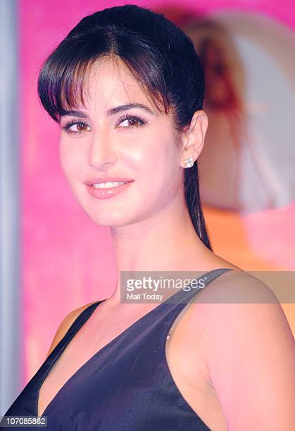 Bollywood actress Katrina Kaif at the unveiling of the new Barbie doll specially crafted for her in Mumbai on Monday