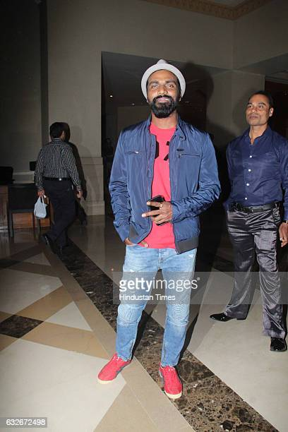 Bollywood choreographer Remo D'Souza during the party by Hollywood actor Jackie Chan at JW Marriot on January 23 2017 in Mumbai India Jackie Chan is...