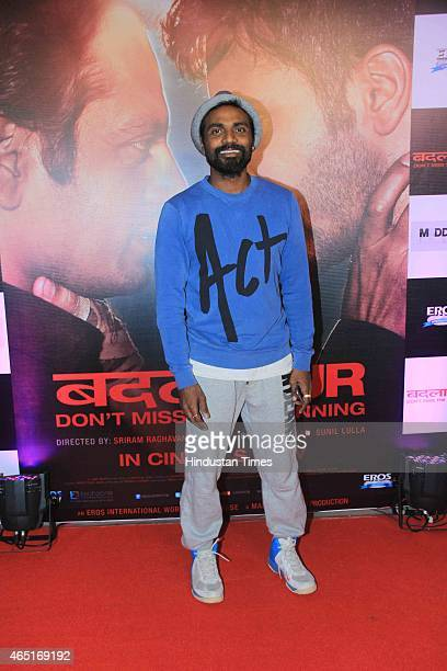 Bollywood choreographer Remo DSouza during the success party of the film Badlapur on February 27 2015 in Mumbai India
