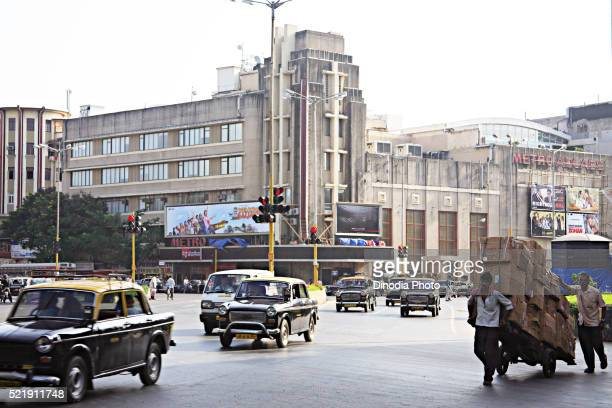 Bollywood cinema hall Metro theatre, Dhobi Talao, Vasudev Balwant Phadke Chowk, Marine Lines, Bombay Mumbai