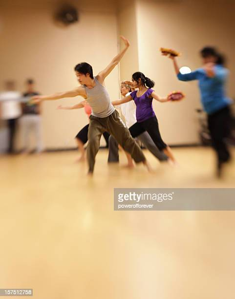 Bollywood dance group in the studio