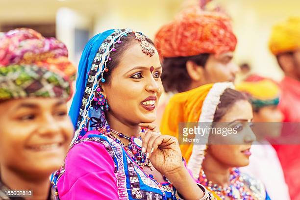Bollywood Dancer Group Traditional Indian Music